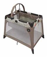 Самая компактная манеж-кроватка NIMBLE  NOOK (цвет:Woodland) Graco, фото 1