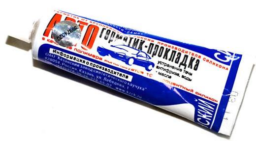 Авто герметик 60гр белый