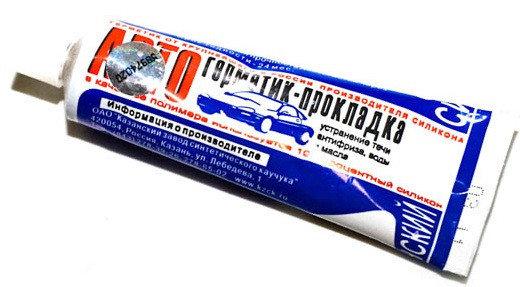 Авто герметик 60гр белый, фото 2