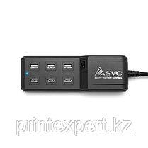 Универсальное USB зарядное устройство SVC MCH6, фото 3