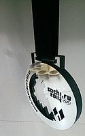 Медаль серебро с лентой, фото 1