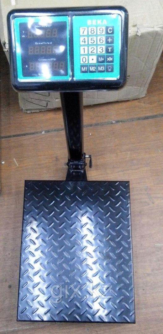 Весы платформенные торговые до 400 кг.