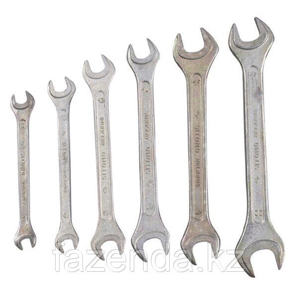 Ключи рожковые 7-19 мм 8 шт.