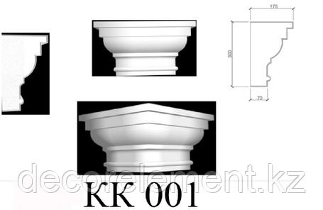 Капитель пилястры КК 001, фото 2
