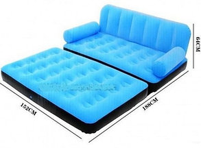 Надувной диван кровать Bestwey 67356 Зеленый, фото 2