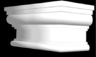 Капитель пилястры КК 002