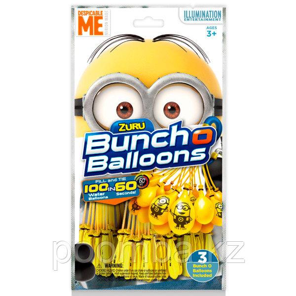 """Bunch O Balloons Стартовый набор """"Миньоны"""": 100 шаров - фото 6"""