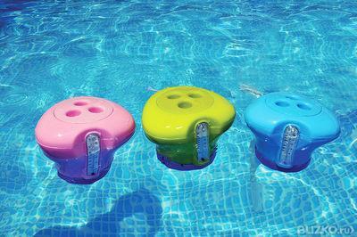 поплавок-дозатор для бассейна, плавающий дозатор для таблеток