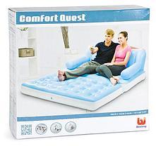 Надувной диван трансформер Bestway 75039, фото 2