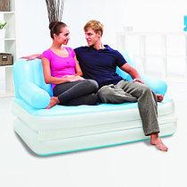 Надувной диван трансформер Bestway 75039, фото 3