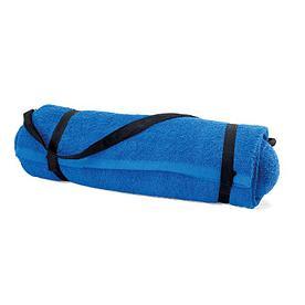 Пляжный коврик с подушкой
