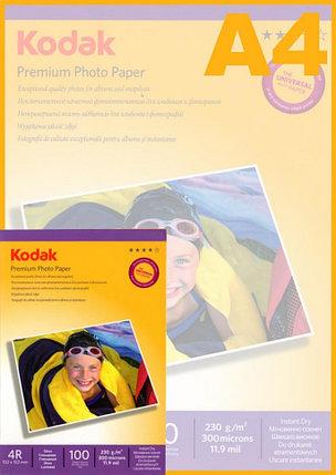 Фотобумага KODAK Premium Photo 10x15/100 листов/230г/м, фото 2