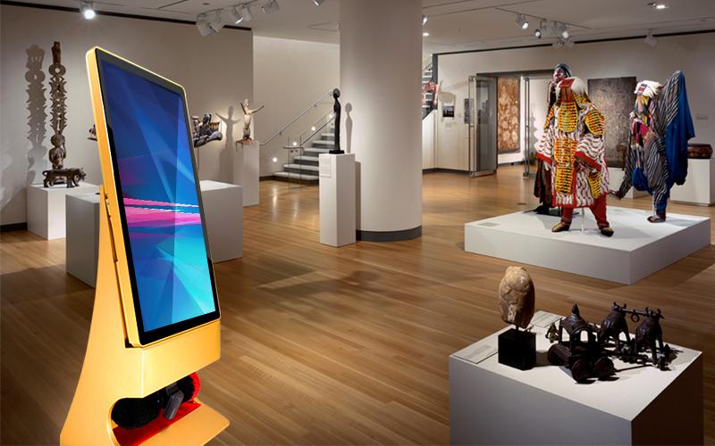 Интерактивные сенсорные панели для музеев