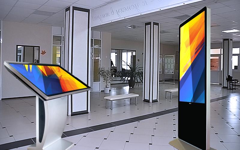 Интерактивные сенсорные панели для школ