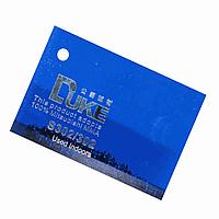 Синий полупрозрачный листовой акрил №302 (3мм) 1,22мХ2,44м