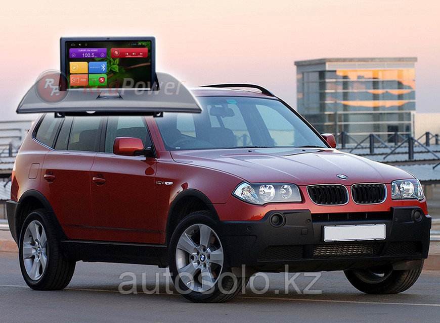 Автомагнитола BMW X3 (2003-2010) Redpower