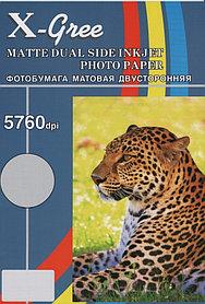 Фотобумага X-GREE A4/50 листов/300г/м Матовая Двухстороняя