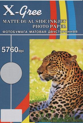 Фотобумага X-GREE A4/50 листов/300г/м Матовая Двухстороняя, фото 2