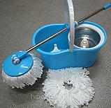 Magic mop.(Spin mop) Швабра с механизмом отжима и полоскания., фото 4