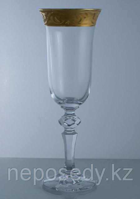 Фужеры Christine 150мл шампанское 6шт. 40707-baroko-150. Алматы