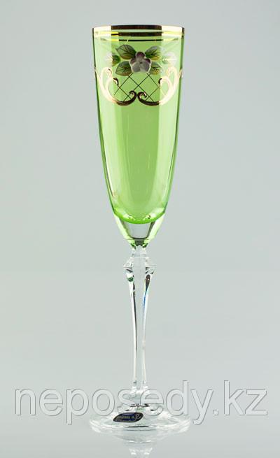 Фужеры Elisabeth шампанское 200мл. 6шт богемское стекло, Чехия 40760-V0025-200. Алматы