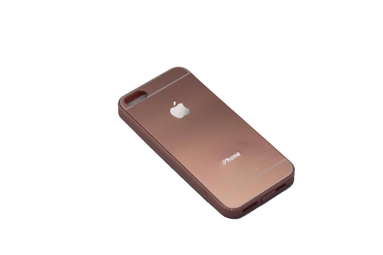 Чехол Задняя крышка iPhone 5 Rose Gold