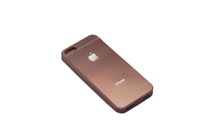 Чехол Задняя крышка iPhone 5 Rose Gold, фото 2