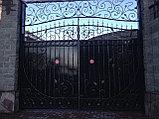 Ворота с забором, фото 3