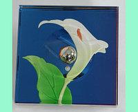 Сенсорный выключатель в стеклянном корпусе (лилия)