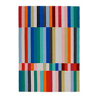Ковер безворсовый ХАЛЬВЕД ручная работа 170х240 разноцветный ИКЕА, IKEA  , фото 1