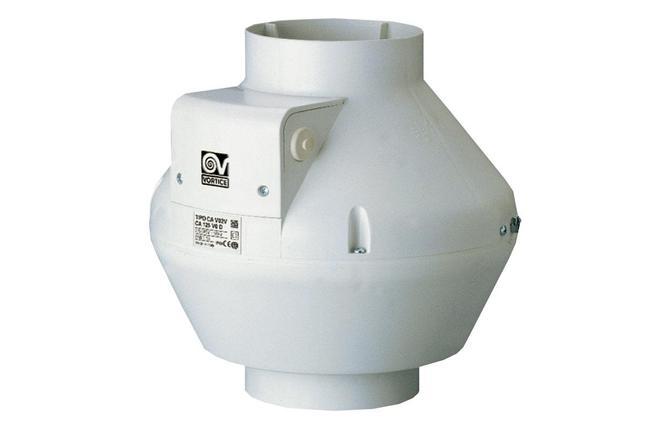 Вентилятор канальный Vortice CA 125-V0 D, фото 2