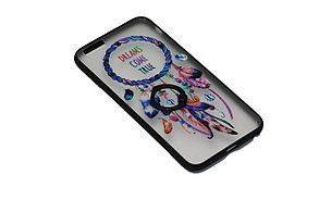 Чехол с кольцом силиконовый Samsung J1 mini, фото 3