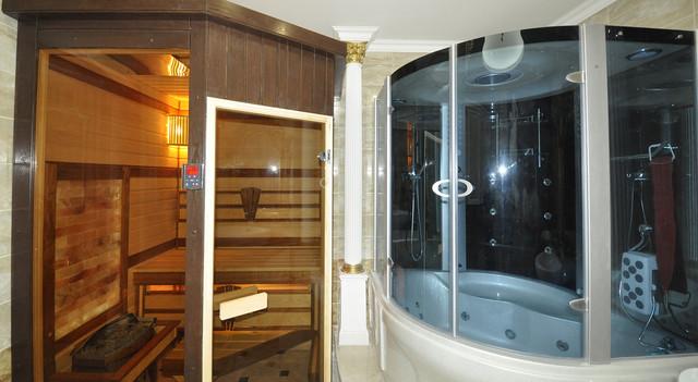 сауна в ванной, сауна в квартире