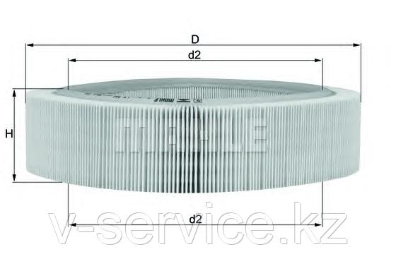 Фильтр воздушный LX  346