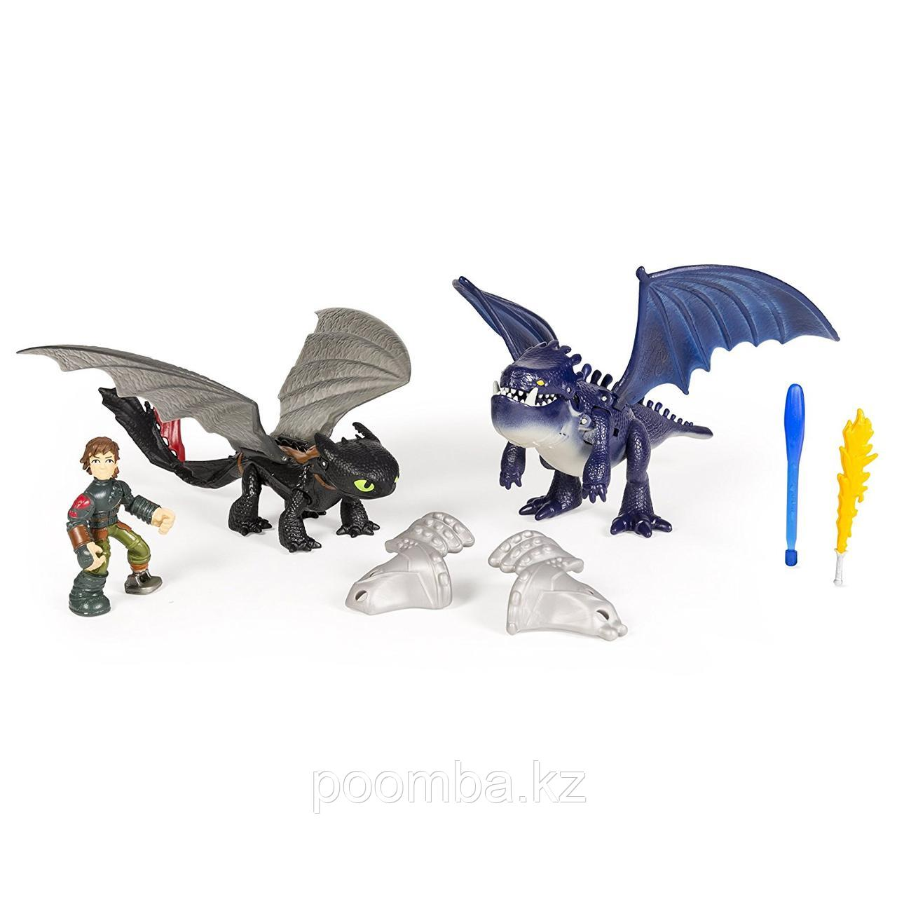 "Набор How To Train Your Dragon ""Беззубик и Иккинг против синего дракона"""