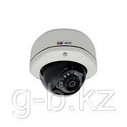 ACTi E72 3MP, внеш купольная камера,1080p/30fps, PoE, IP66 /