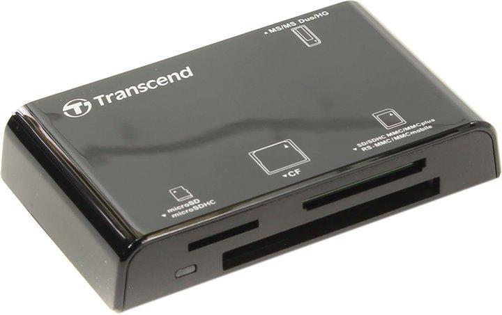 Кардридер Transcend TS-RDP8K черный