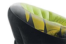 Надувное кресло Intex 68582 Зеленый (Габариты: 112 х 109 х 69 см), фото 3