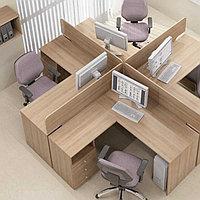 Комплект 4 рабочих столов, фото 1