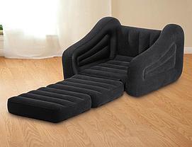 Надувное кресло-трансформер 2в1 Intex 68565, фото 3