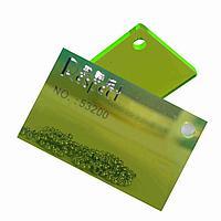 Зеленый флуорисцентный листовой акрил №53200 (3мм) 1,22мХ2,44м