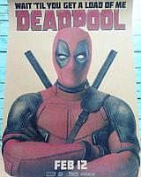 "Плакат ""Deadpool"" 30*42 см"
