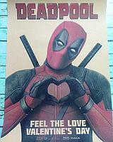 "Плакат ""Deadpool love"" 30*42 см"