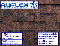 Битумная черепица RUFLEX Runa (Медный отлив), SBS (СБС) модифицированная, т.+7(707) 570 5151