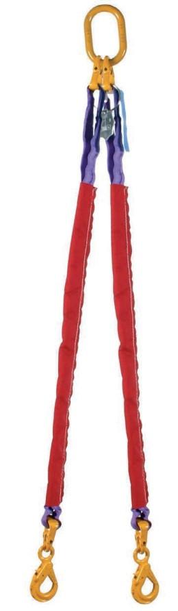 Многоветвевые круглопрядные стропы с крюками