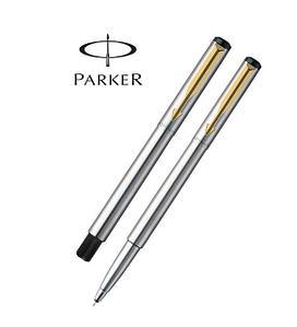 Ручка-роллер Parker Vector Т03, цвет Steel, стержень Mblue