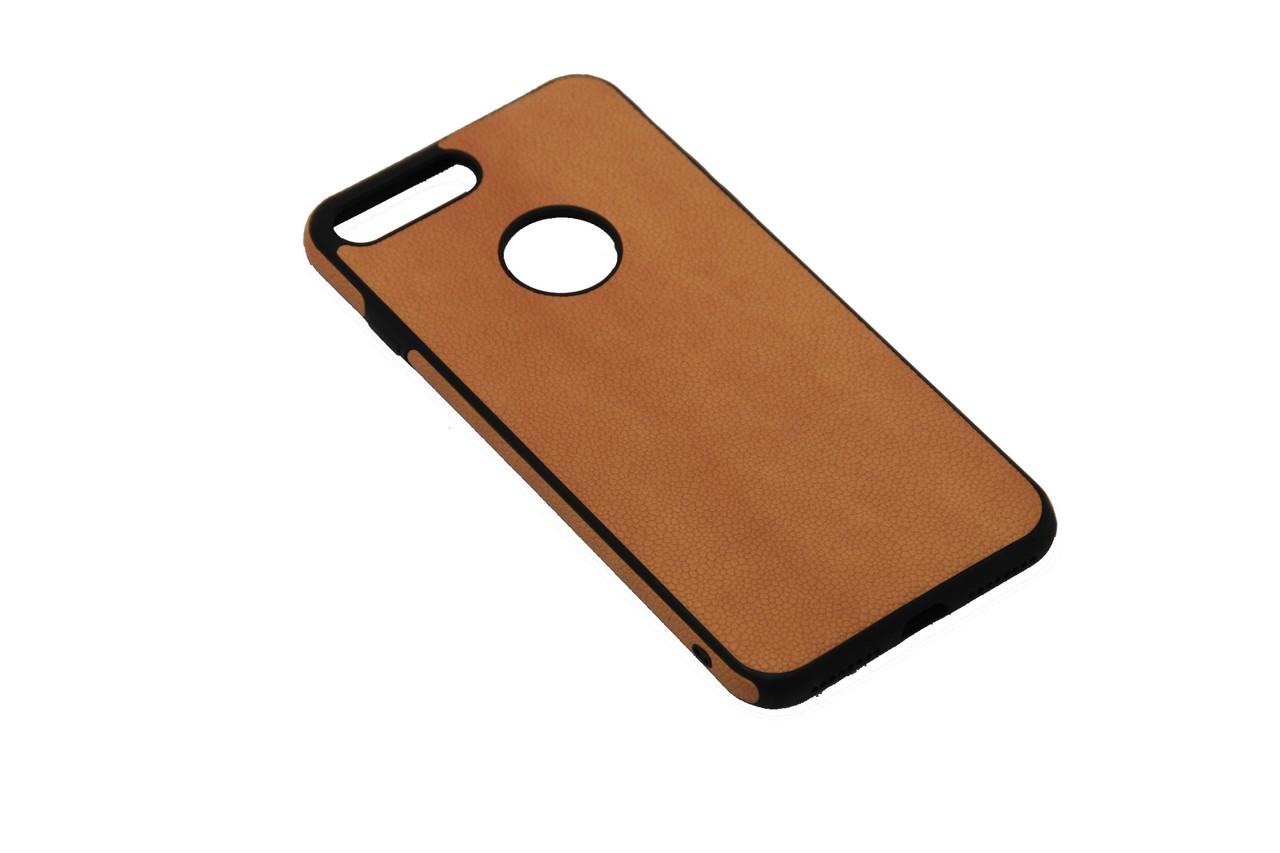 Чехол sCase с кожей iPhone 7 Plus