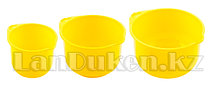 Набор мисок для кухни 2 л, 2,75 л, 3,75 л. 38000 (003)
