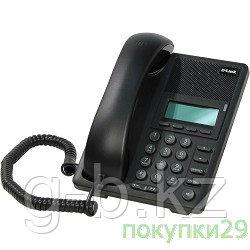 D-Link DPH-120SE IP-телефон с 1 WAN-портом 10/100Base-TX с поддержкой PoE и 1 LAN-портом 10/100 /