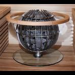 Защитное ограждение GL8 стеклянное для Harvia Globe